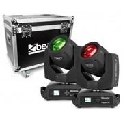 Pack de 2 Tiger 7R BeamZ lyres hybrides Beam Spot et Wash