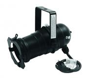 Projecteur PAR 20 noir long sans lampe
