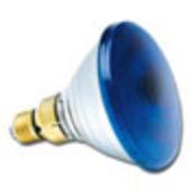 Lampe PAR 38 Sylvania 230V 80W Bleu code 0019650
