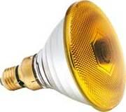 Lampe PAR 38 SYLVANIA 230V 80W Jaune code 0019653