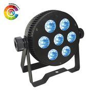 Projecteur led Power lighting PAR SLIM 7X10W Hexa RGB W A UV