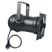 Projecteur PARCAN 46 noir pour lampe iodure 70W PAR30  CDM R-70