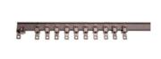 Patience manuelle monorail noire 3m