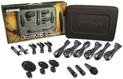 Micro Shure - PGADRUMKIT6 Instruments - Malette 6 micros batterie