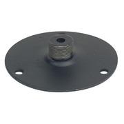 Plaque de montage pour Col de cygne patère diamètre 60 mm