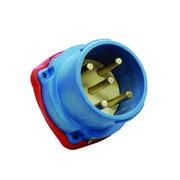 Connecteur Male Marechal DS3 Ploy bleu IP66/67 3P+N+T 50A 440V AC
