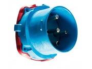 Connecteur Male Marechal DS9 Ploy bleu IP66/67 3P+N+T 150A 440V AC