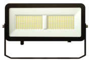 Projecteur led beneito et Faure Polaris 100W noir Blanc chaud 3000K