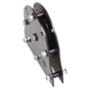 Poulie 100mm MF1 pour drisse et câbles 16mm max