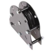 Poulie 100mm MF2 pour drisse et câbles 16mm max