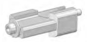 Bride de jonction ASD C0011 pour 2 plaques praticables horizontales
