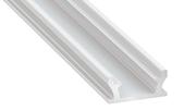 Profilé aluminium Terra gris pour ruban led au sol et étanche 2m