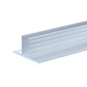 Profilé en T base de rail glissière 9,5mm en barre de 2m