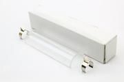 Protection Verre Pyrex Demi-cylindrique 78mm avec pinces