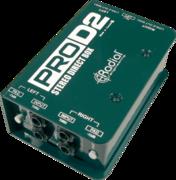 Boîtier de direct Radial PRO-D2 DI passif stéréo