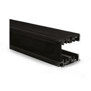 Rail 3 phases alu noir 230V 2m