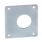 Plaque d'espacement pour fermeture à pene type slide