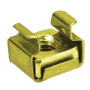Ecrou M6 cage pour rail acier 2mm simple