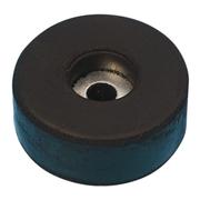 Pied type tampon caoutchouc de flight case diamètre 38mm hauteur 15mm