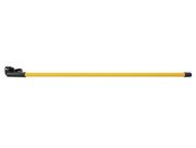 Tube fluorescent avec alimentation et interrupteur jaune 36W 145cm