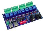 Carte relais DMX 8 canaux