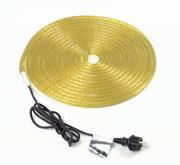 Flexible lumineux jaune 9m avec prise secteur