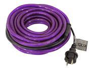 Flexible lumineux violet 9m avec prise secteur