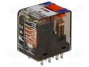 Relais 24V CC 4 circuits 6A 250V