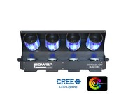 Roller Scan - Power Lighting - Led Cree 4x10W RGBW