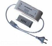 Contrôleur 600W pour 50m max de ruban de led RVB 230V + télécommande