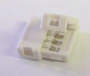 Connecteur jonction anti arrachement Femelle Femelle pour ruban à led 4 contacts