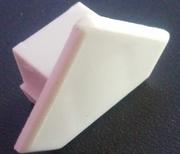 capuchon de terminaison pour profilé d'angle aluminium
