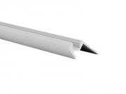 Profilé alu pour nez de Marche longueur 2m sans diffuseur