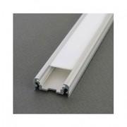 Profilé plat pour ruban de led largeur max 11mm longueur 1m sans diffuseur