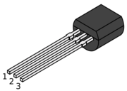 Transistor BC546B NPN 65V 100mA