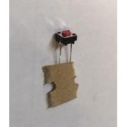 Switch interrupteur à souder 2 pattes / commutateur Omron B3F 6000 6x6x4.3mm 0.98N