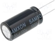 Condensateur Radial electrolytique 150µF 400V
