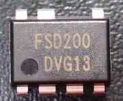 FSD200 CI commutateur d'alimentation 7 broches DIL7