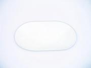 Miroir scanner ovale 115 X 80mm