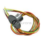 Capsule Slip Ring AC 240V 12.5mm 300Rpm 6 câbles supportant 2A