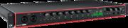 Focusrite Scarlett3 2i2 interface audio USB-C midi Spdif optique 18 entrées 20 sorties