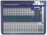 Table de mixage soundcraft signature 22 effet lexicon 22 voies