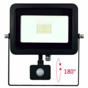 Projecteur led extérieur Beneito et faure SKY 30W blanc neutre 4000K avec détecteur