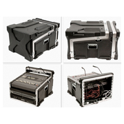 Mini régie BOSCHMA CASES Slant Mixer Case - 11U (horizontale) - Noir