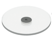 Snap transparent grand diamètre Soraa AC-E-CL-0000-00-S1 pour ajouter une gélatine ou un diffusant