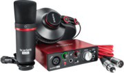 Pack Studio Focusrite Scarlett Solo Studio Carte son + Casque + micro