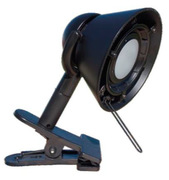 Lampe à pince solux clip-on noire 36° 4700K