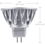 Ampoule Led Soraa SM16-07-25D-827-03-S3 MR16 brillant 7.5W 827 25°