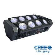 Multi Beam Spider - Power Lighting - 8x8W Blanc Cree
