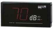 Afficheur DB mètre SPL View Audiopole seul ou avec limiteur